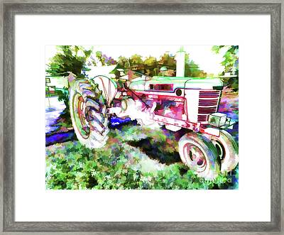 Tractor 2 Framed Print by Lanjee Chee