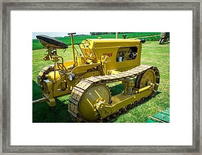 Tractor 4 Framed Print