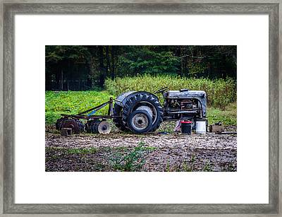 Tractor  Framed Print by Billy Burdette