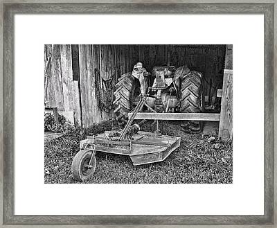 Tractor Framed Print