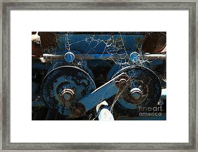 Framed Print featuring the photograph Tractor Engine IIi by Stephen Mitchell