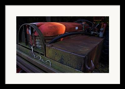 Tractor Digital Art Framed Prints