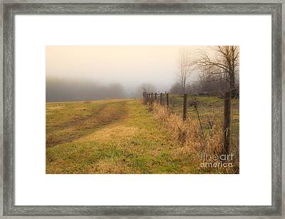 Forgotten Trails Framed Print