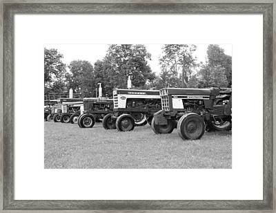 Tractor Show 2016 Framed Print
