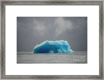 Iceberg - Tracy Arm Fjord Framed Print