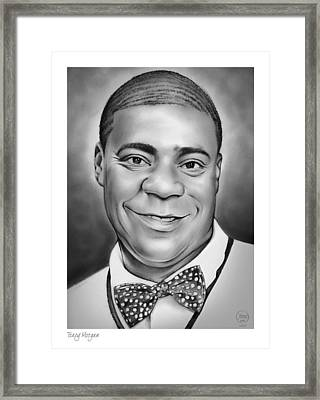 Tracy Morgan Framed Print by Greg Joens