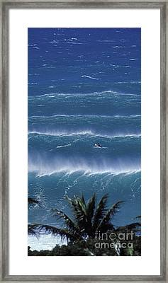 Trade Lines  -  Part 2 Of 3 Framed Print