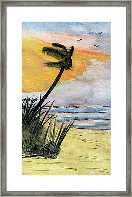 Trade Winds  Framed Print by R Kyllo