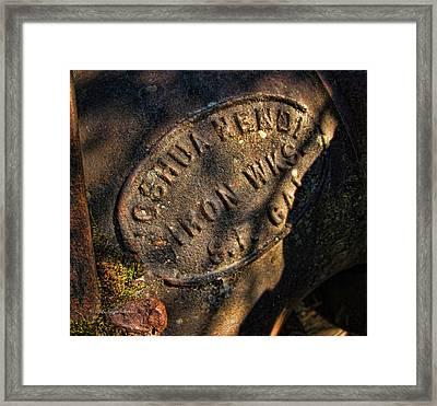 Trademark Framed Print