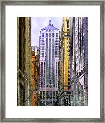 Trading Places Framed Print