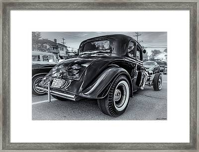 Tradional Hot Rod Framed Print by Ken Morris
