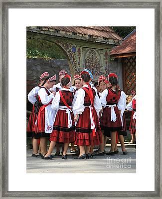 Tradition In Harghita County Framed Print by Gabriela Insuratelu