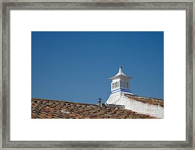 Traditional Algarve Roof And Chimney Framed Print