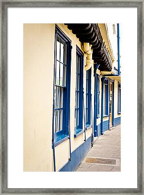 Traditional Architecture Framed Print by Tom Gowanlock