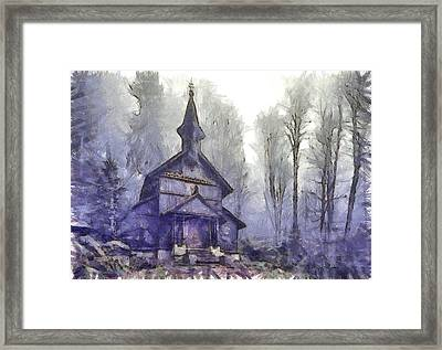 Traditional Church Framed Print