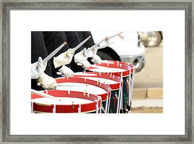 Traditional Drums Framed Print by Billy Soden