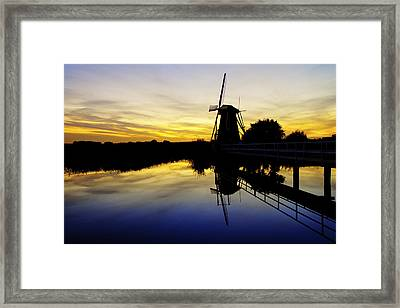Traditional Dutch Framed Print by Chad Dutson
