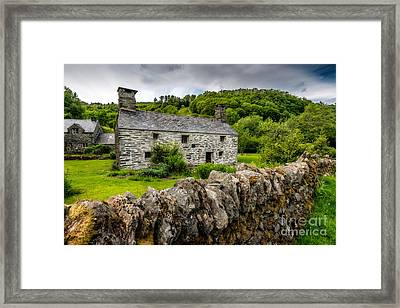 Traditional Farmhouse Framed Print by Adrian Evans