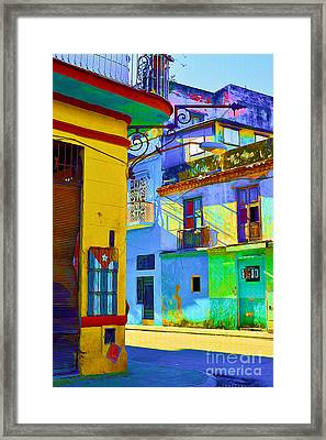 Traditional Havana Framed Print by Chris Andruskiewicz