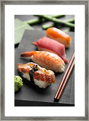 Traditional Japanese Sushi 2 Framed Print by Vadim Goodwill