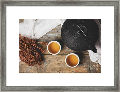Traditional Japanese Tea Framed Print