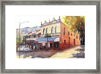 Traditional Music Hall, Brisbane Framed Print