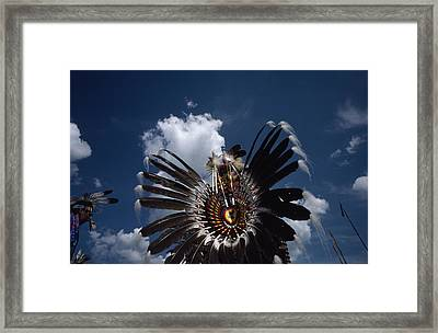 Traditional Native American Dancers Framed Print by Lynn Johnson