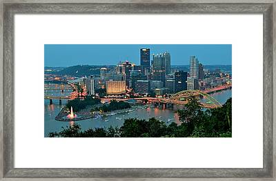 Traditional Panoramic Framed Print by Frozen in Time Fine Art Photography