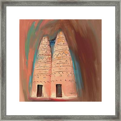 Traditional Pigeon Houses 676 3 Framed Print
