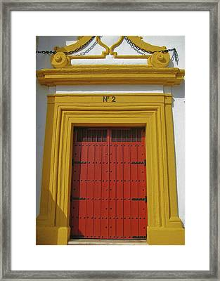 Traditions Of Sevilla Framed Print by JAMART Photography