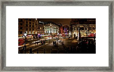 Trafalgar Square Framed Print by Ken Yan