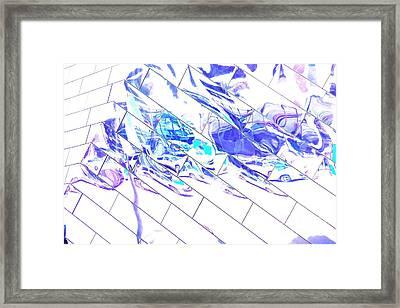 Traffic Along Euclid, Cleveland1 Framed Print