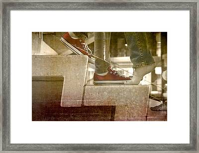 Framed Print featuring the photograph Traffic by Kevin Bergen