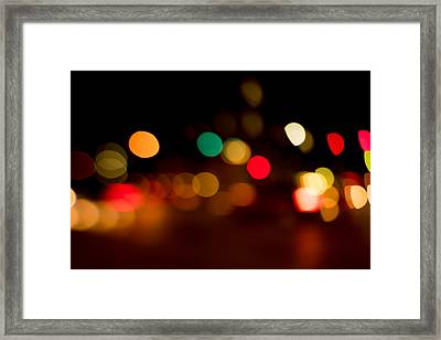 Traffic Lights Number 11 Framed Print