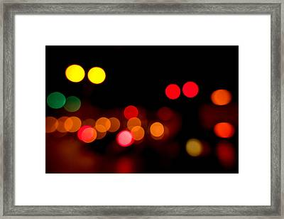 Traffic Lights Number 12 Framed Print