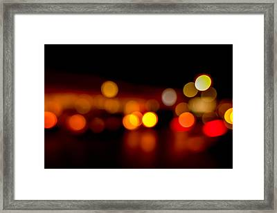 Traffic Lights Number 9 Framed Print