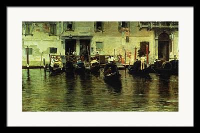 Traghetto Framed Prints