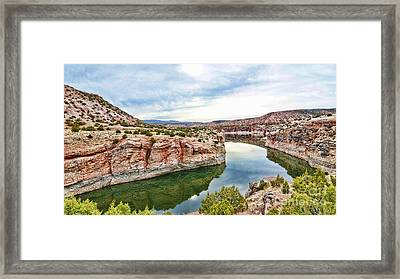 Trail Creek Canyon Framed Print by Gary Beeler