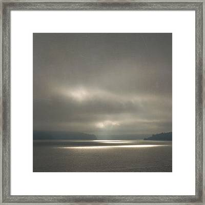 Trail Of Light Framed Print