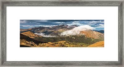 Trail Ridge Overlook Framed Print by Thomas Schoeller