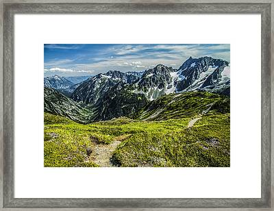 Trail To Stehekin Framed Print