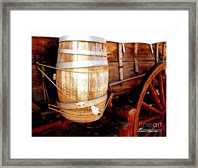 Trail Worthy Framed Print