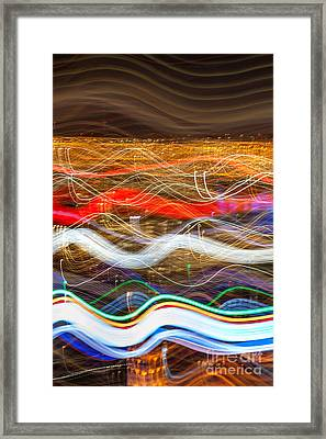 Trailblazing Framed Print