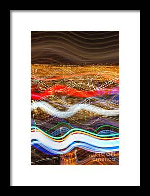 Abstract Skyline Framed Prints