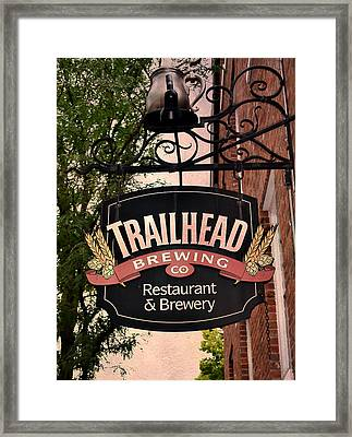 Trailhead Brewing Company Framed Print