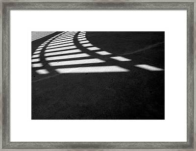 Light Rail 1 Of 1 Framed Print