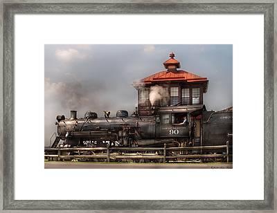 Train - Engine -the Great Western 90 Framed Print