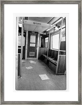 Train Car  Framed Print