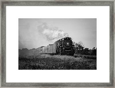 Train Days Framed Print