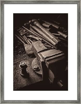 Train Driver's Tools Framed Print by Dave Bowman